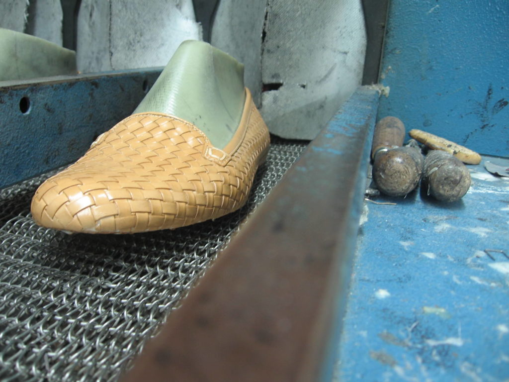 MANUFACTURING OF SHOES